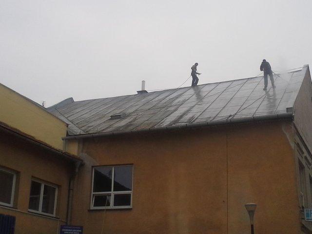 Čistenie strechy - Liptovský Mikuláš - ProRoof