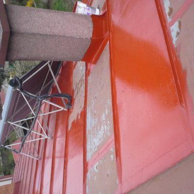 Montáž snehových zábran a náter strechy - Markušovce - ProRoof