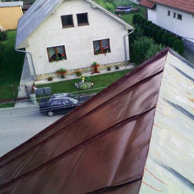 Náter rodinného domu - Lubica - ProRoof