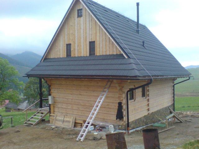 Náter rodinnej drevenice - Ždiar - ProRoof