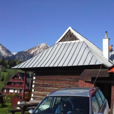 Náter sedlovej strechy - Ždiar - ProRoof
