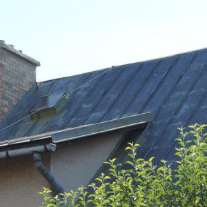Náter strechy a oprava komína - Poprad Spišská Sobota - ProRoof