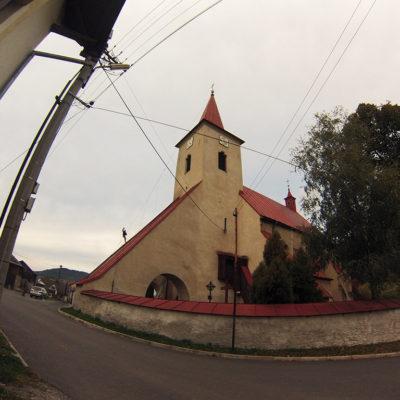 Náter strechy na kostole - ProRoof