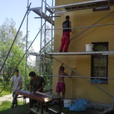 Renovácia fasády Villa Kunerad - Novy Smokovec - ProRoof