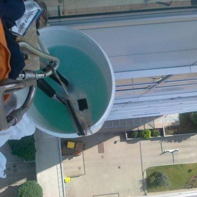 Umývanie okien Westend Tower - Bratislava - ProRoof