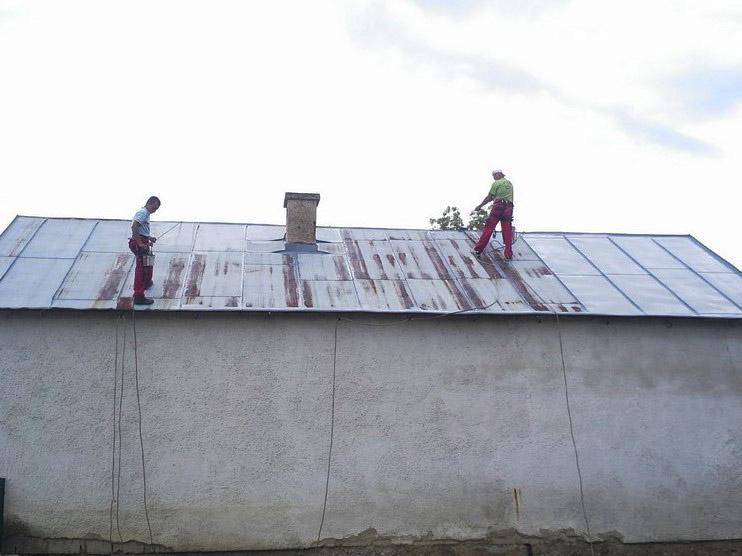 Náter strechy - Vlková - ProRoof