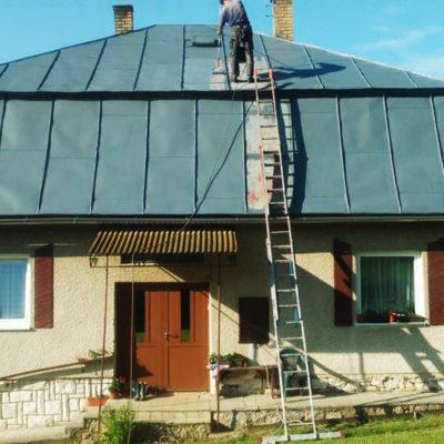 Náter strechy - Vyšné Repaše - ProRoof