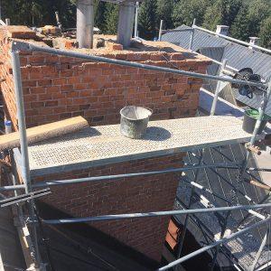 Oplechovanie komina