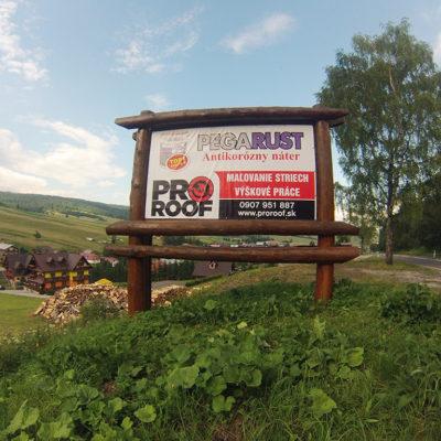 Montáž reklám billboardov hromozvodov antén ProRoof