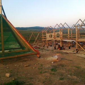 Výstavba lanových parkov ProRoof