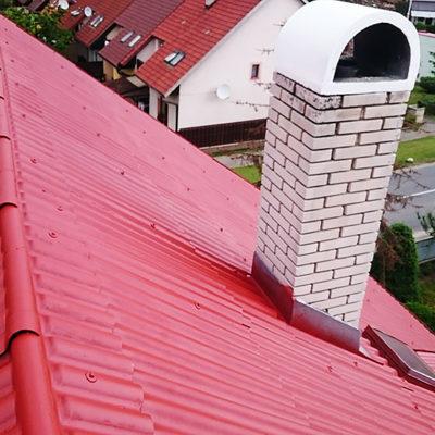 Čistenie a nástrek trapézovej eternitovej strechy, Poprad Veľká - ProRoof