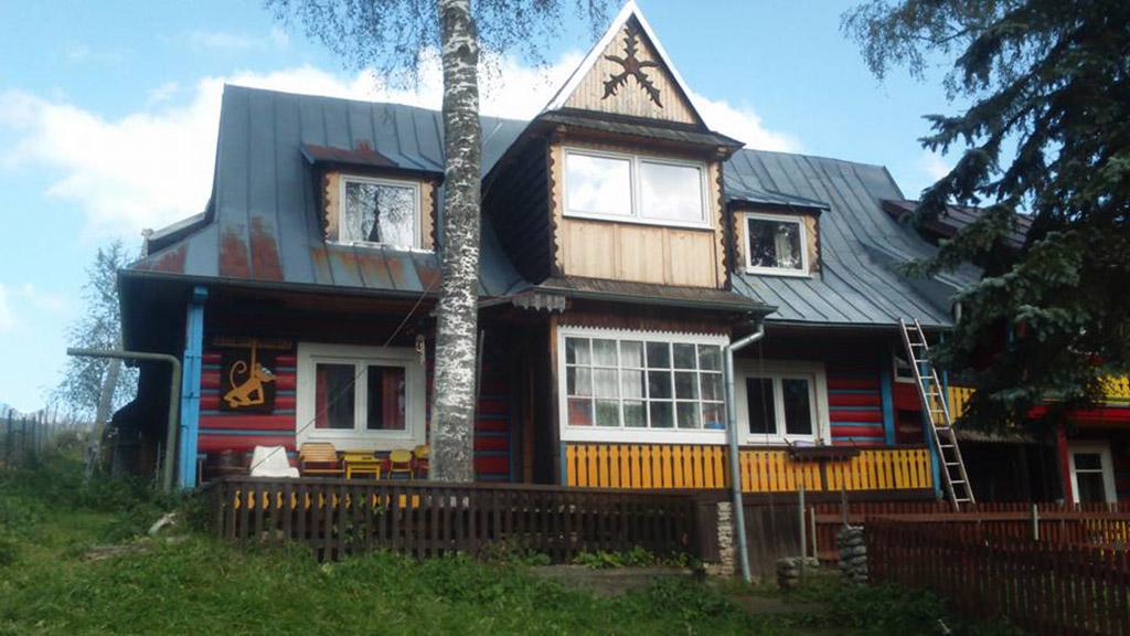 Nástrek strechy na ubytovacom zariadení Ginger Monkey, Ždiar - ProRoof