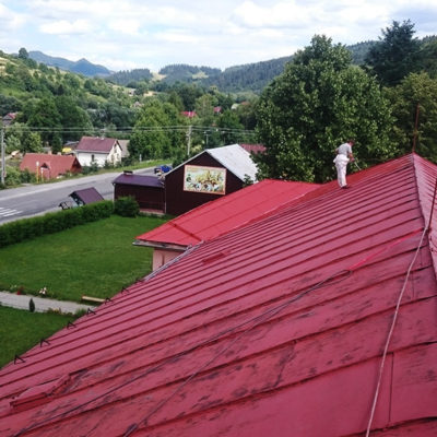 Náter strechy, ZŠ s MŠ Haligovce - ProRoof