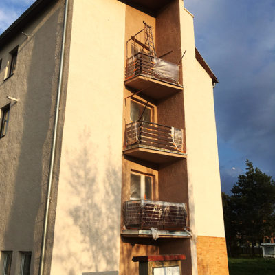 Renovácia fasády na bytovom dome, Spišská Stará Ves - ProRoof