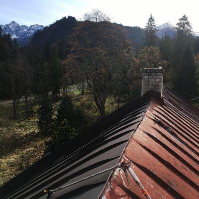 Nástrek plechovej strechy, Tatranská Javorina - ProRoof