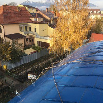 Náter strechy kostola, Spišská Belá-ProRoof