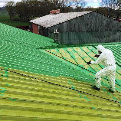 cistenie a nastrek trapezovej plechovej strechy poprad-proroof